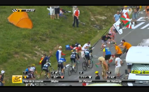 Valverde limiting his losses Stage 18 2014 TdF