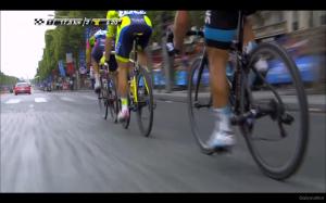 TdF 2014 Stage 21 3 man break