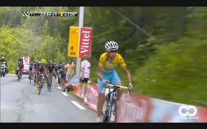 Nibali surges off the front on Stage 14 2014 TdF